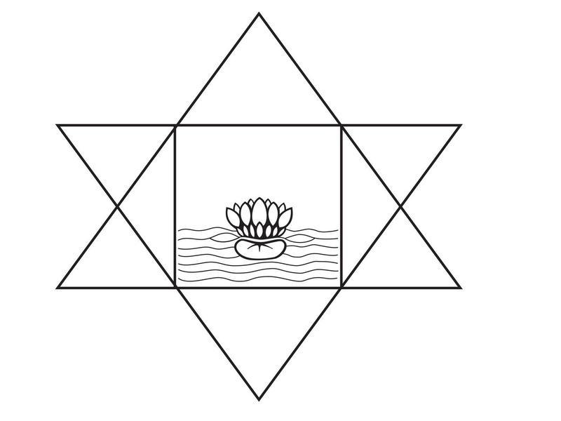 Photographer:Sri Aurobindo Ashram Archive   symbol of Sri Aurobindo