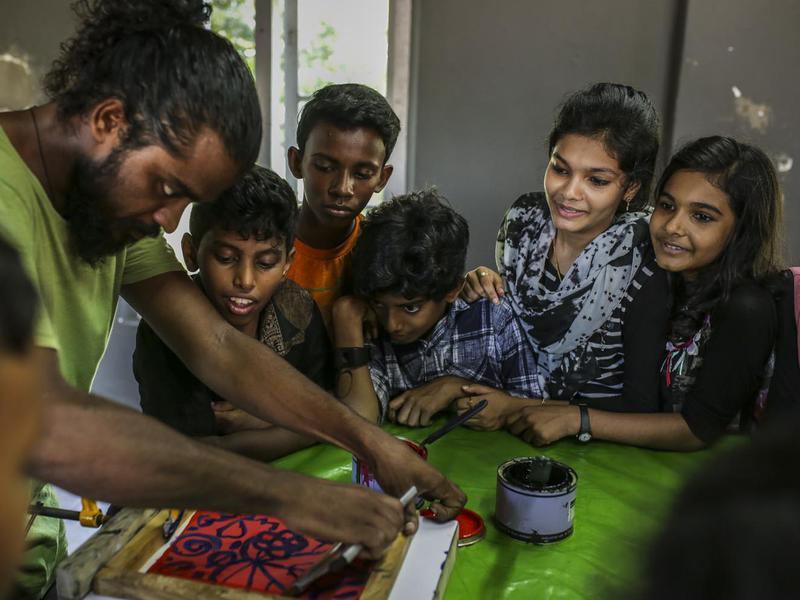 Photographer:Kochi Muziris Biennale Foundation | Children's Camp - Summer 2018