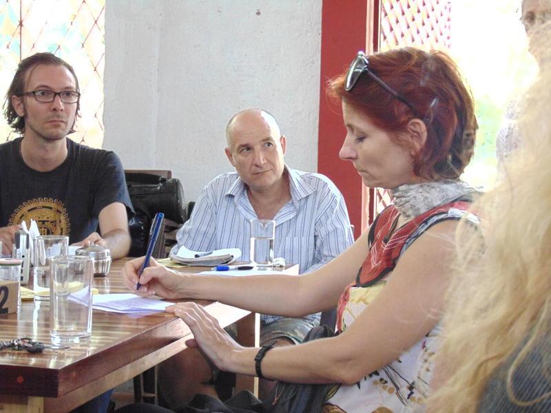 Photographer:Gino | Edo (left), Gino (center), Swaha (right)