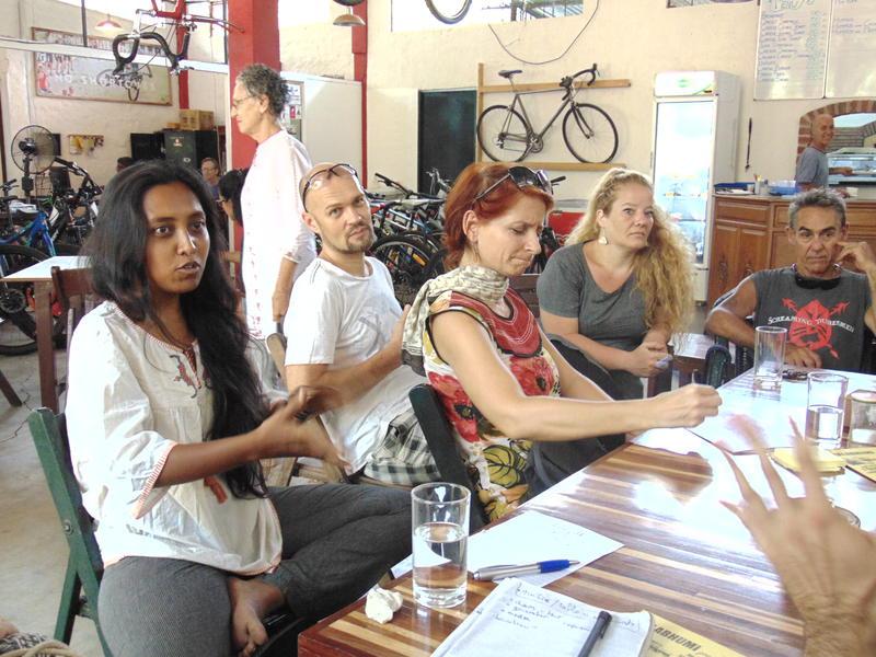 Photographer:Gino | Puja, Swaha, Eddie, Vera, Mirco (from left to right)