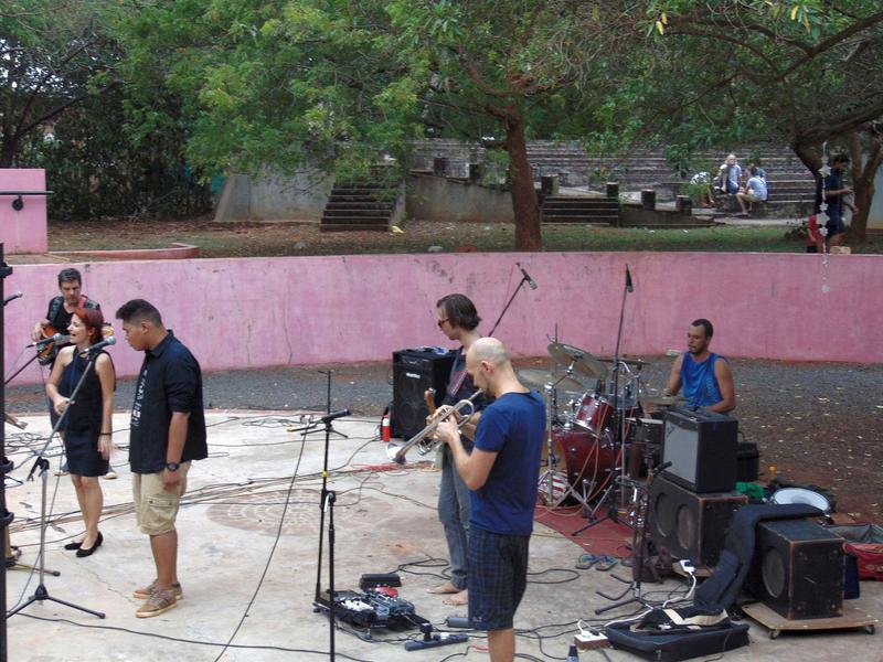 Photographer:Christabel   All Stars Blues Band with Rando and Eddie