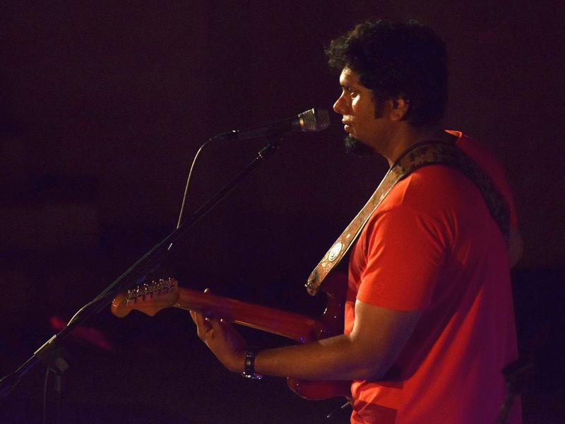 Photographer:Anisha | Bruce Lee Mani singer, song writer and guitarist