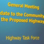 <b>GM To Update The Community On The Proposed Highway</b>