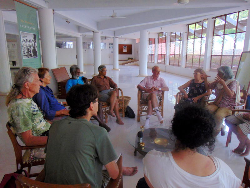 Photographer:Lyuba | sharing on early days of Auroville