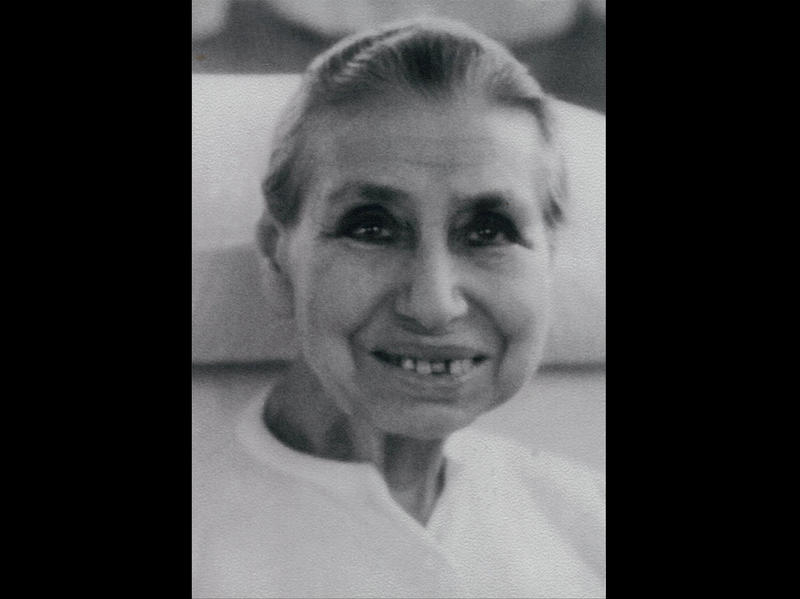 Photographer:Ashram Archives   Mother in the 1960's