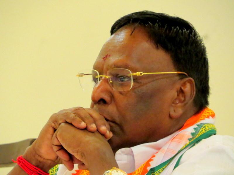 Photographer:PondyCAN | Thiru V. Narayanasamy, Hon'ble Chief Minister of Puducherry