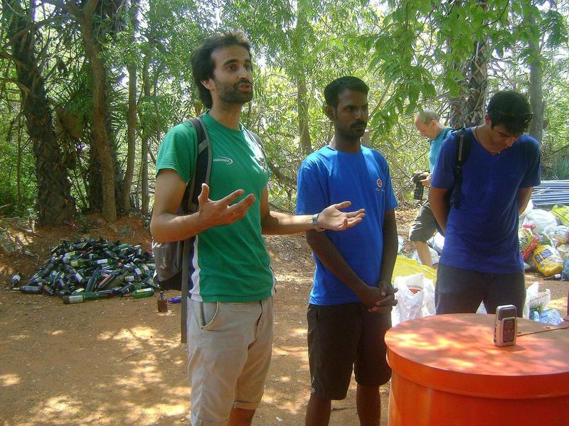 Photographer:Maryliz | Vivekan, organizer for World Clean Up Day and WasteLess Volunteer
