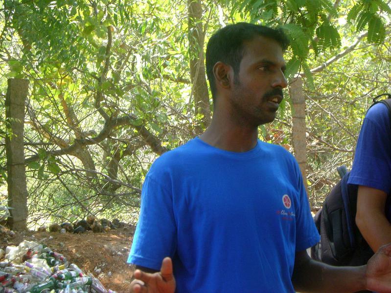 Photographer:Maryliz | Lakshmanan from Auroville Team Clean Up