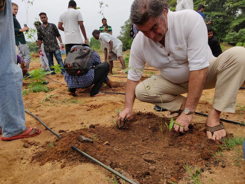 Photographer:Akshay | Luigi planting a sapling