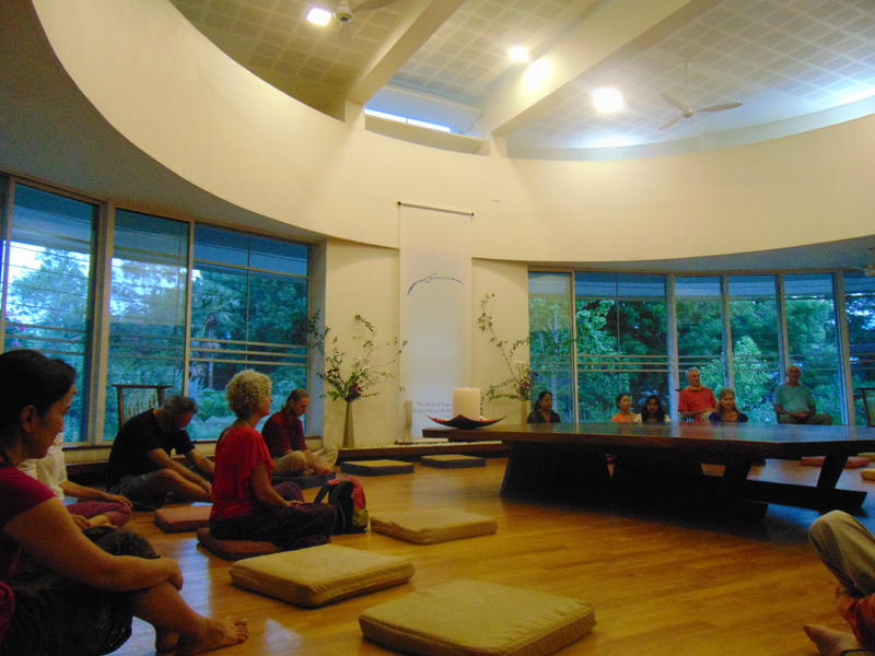 Photographer:Gino | Meditation at Unity Pavilion as the sun sets