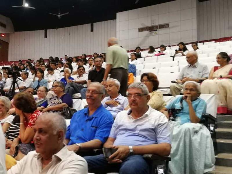 Photographer:Auroville Outreach Media   People eagerly waiting for the inauguration ceremony to begin