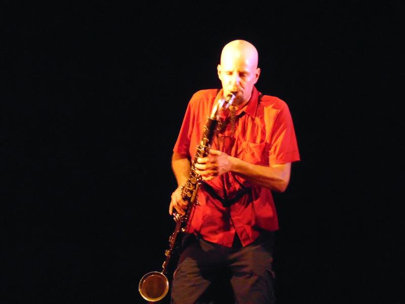 Photographer:Zarin | Lucien Dubuis on Bass Clarinet