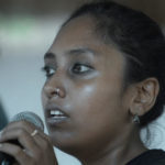 <b>Pujasree's voice creating an ambiance</b>