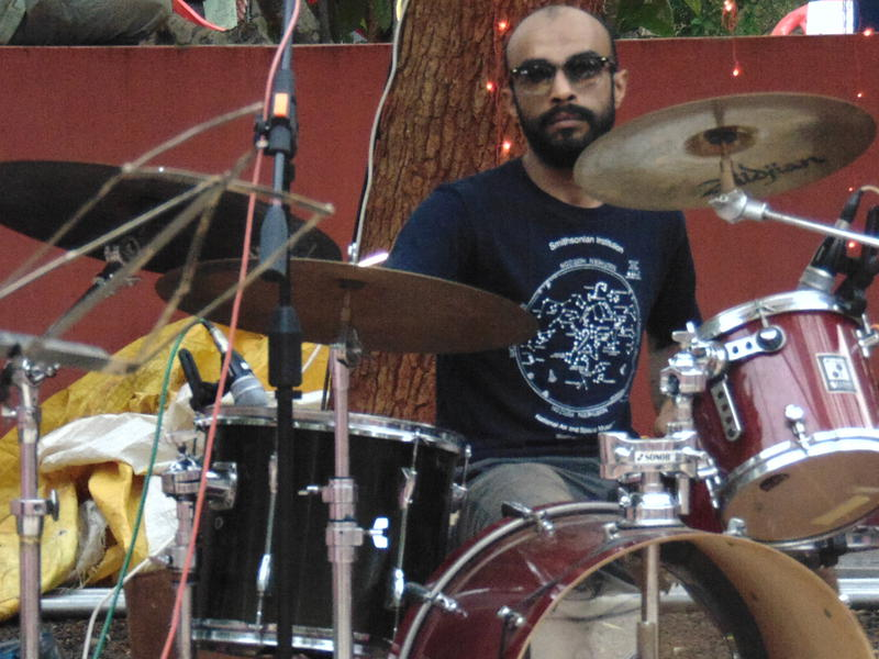 Photographer:Gino   Mehul on drums
