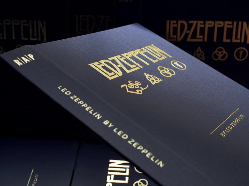 Photographer:web | launching book on Led Zeppelin