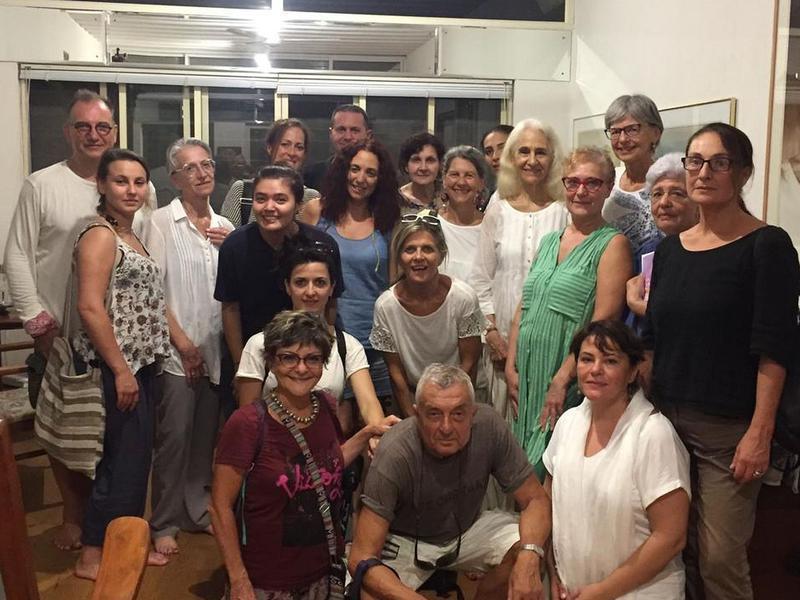 Photographer:Rosanna | Members Of The Italian Community Of Living Ethics