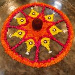 <b>Spirit of Celebration from the Navratri Garba Dance</b>