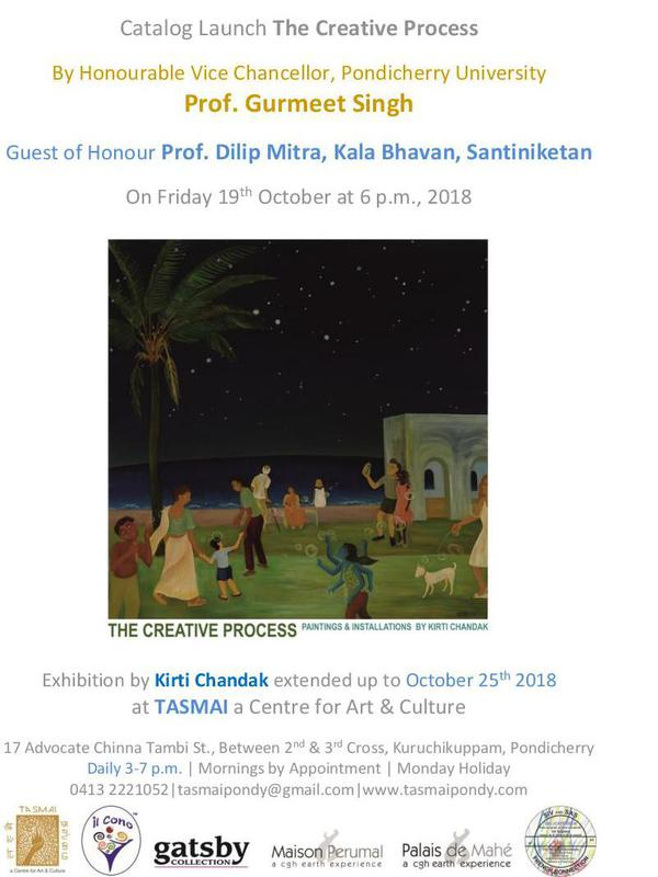 Photographer:web | Cataloug Launch on 19th at TASMAI Centre for Art&Culture