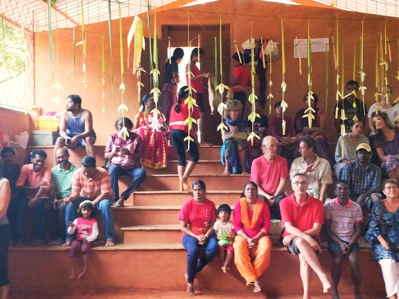 Photographer:Nelson | Audience at the Pooja