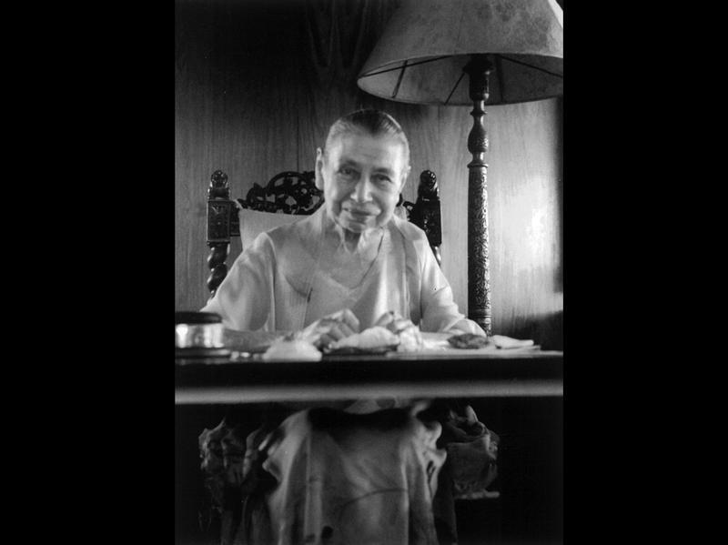 Photographer:Ashram Archives | Mother, 2/2/60