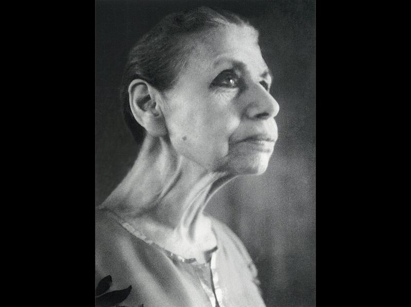 Photographer:Ashram Archives | Mother On Sri Aurobindo's Birthday, 15/8/64