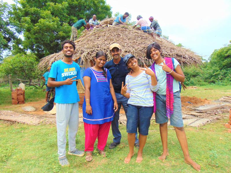 Photographer:Nelson | (From Left) Ashmil, Pavani, Romail, Shalini and Neema, Bamboo Centre