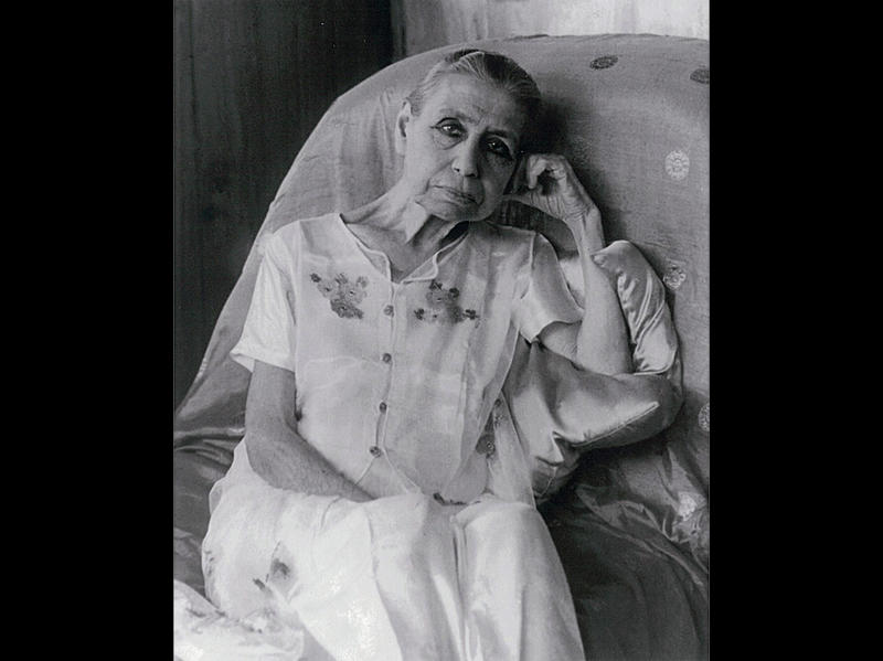 Photographer:Ashram Archives | Mother, 1959/1960