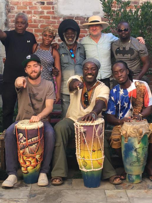 Photographer:web   amazing musicians of Lakou Mizik