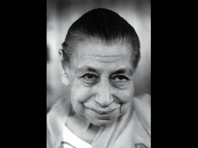 Photographer:Ashram Archives | Mother On Her Birthday - 21/2/68