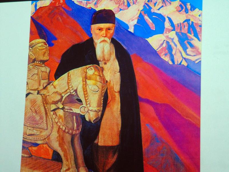 Photographer:Vida | portrait of Nicholas Roerich by his son Svetoslav
