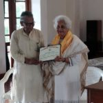 <b>Dr. Aster Patel Receives Auro-Ratna Award</b>