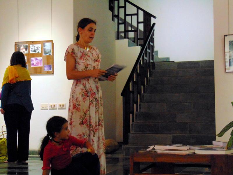 Photographer:Yasna | Ulrike inaugurates the exhibition