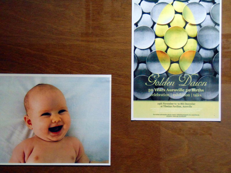 Photographer:Yasna | Golden Dawn, 50 years of Auroville, 50 births