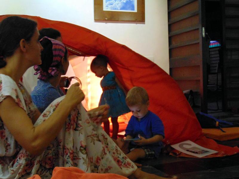 Photographer:Yasna | children's tent