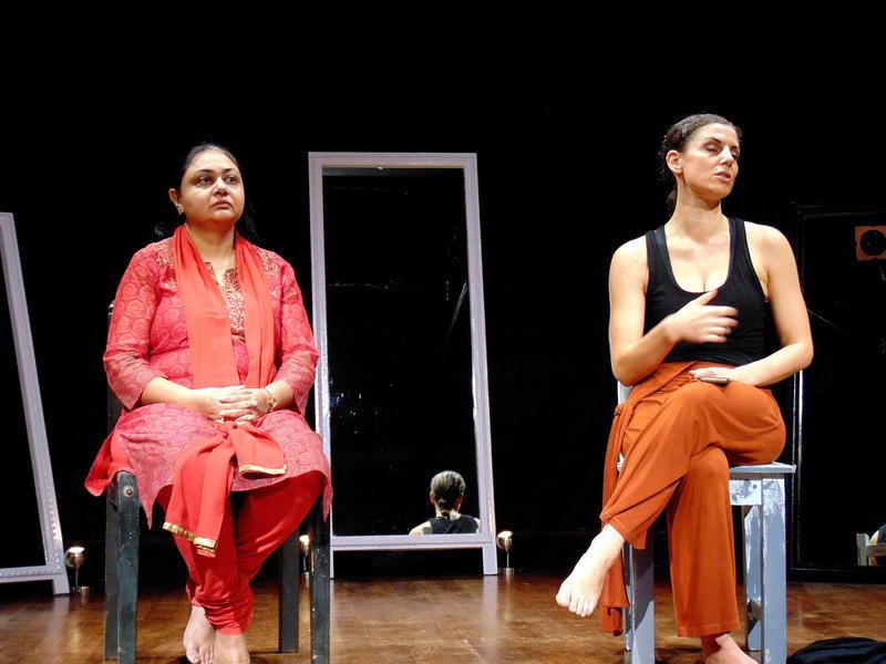 Photographer:Shirin   Ritu and imogen
