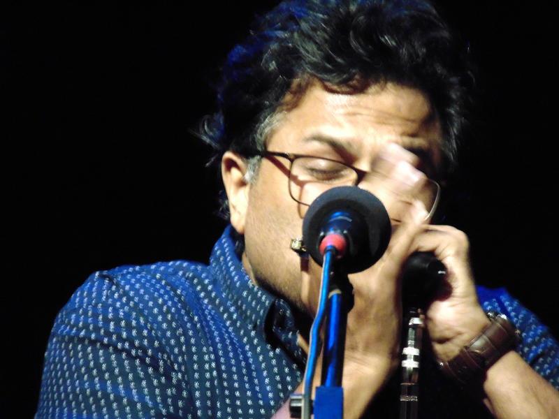 Photographer:Zara | Vasudev Prabhu on harmonica