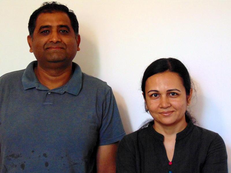 Photographer:Shirin   Lalit and Purvi Bhatt