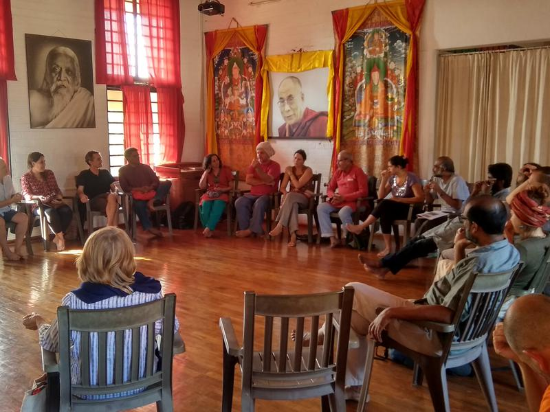 Photographer:SEA | Sharing Circle participants - Pavilion of Tibetan Culture