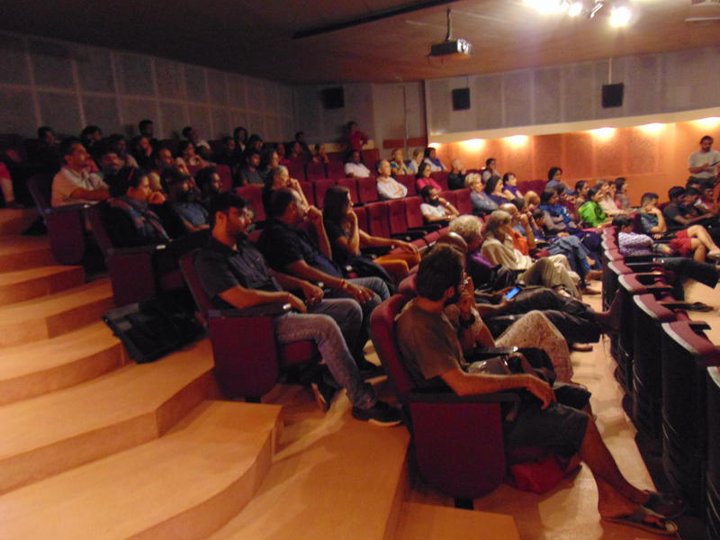 Photographer:Karthick | well attended presentation at MMC