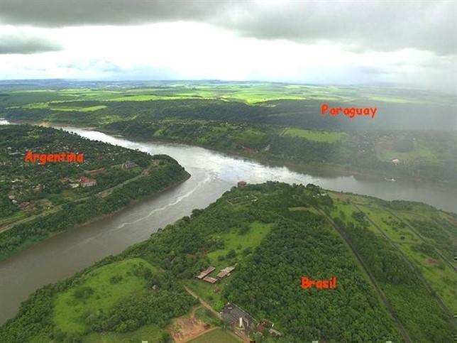 Photographer:web | La Triple Frontera > Paraguay, Brasil y Argentina