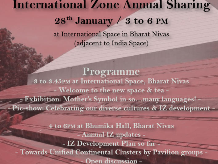 Photographer:web | today from 3pm onward International Zone Annual Sharing on progress and development