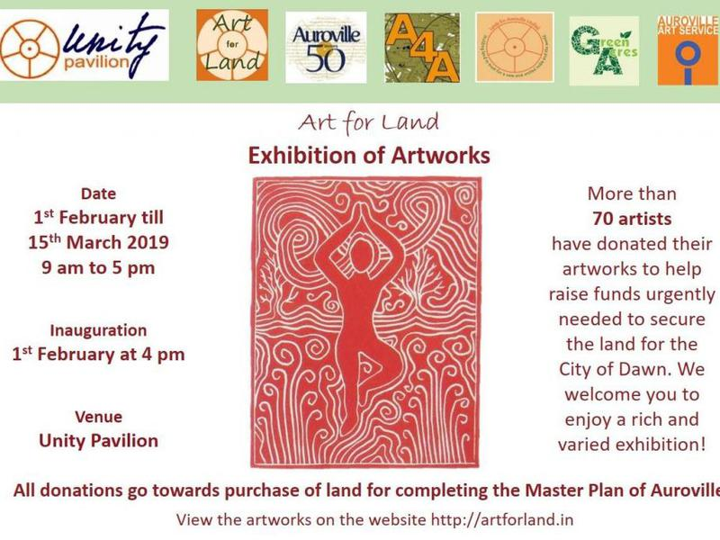 Photographer:web | On Friday 1st at 4pm at UP inauguration Art for Land