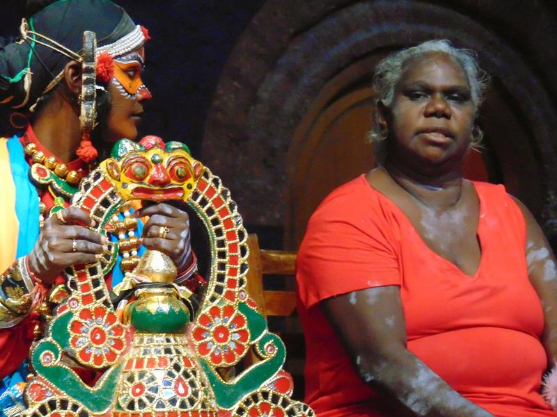 Photographer:Shirin | Thilagavathi (Kanchipuram/Chennai) and Sylvia Nulpinditj (Arnhem Land/ Darwin)