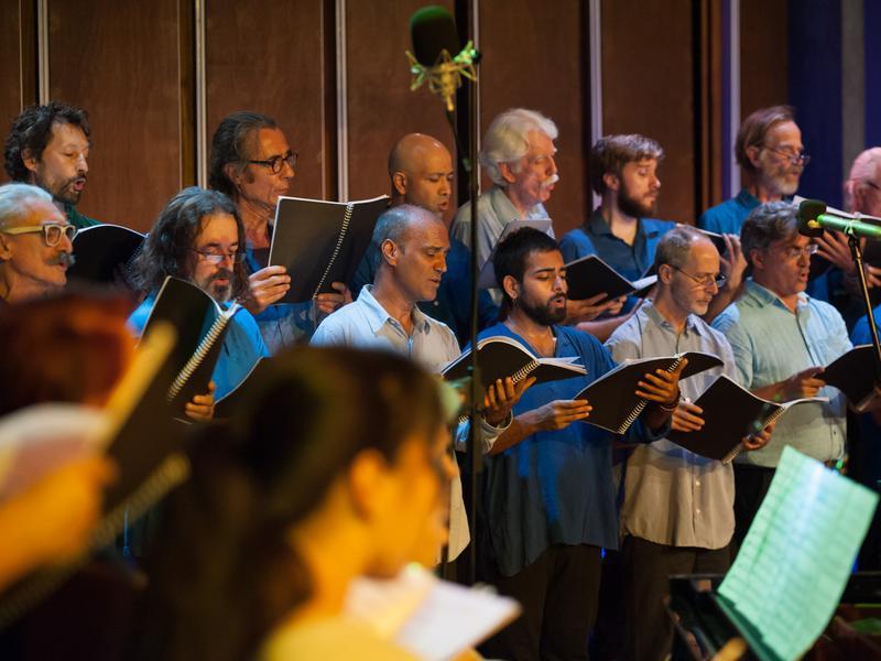 Photographer:Marco Saroldi   The Choir - Tenors and Bass
