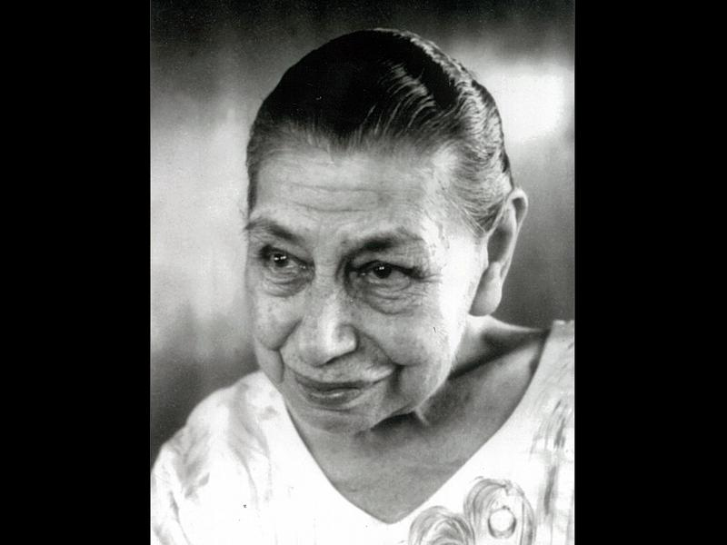 Photographer:Ashram Archives | Mother on her 90th birthday. 21-2-68