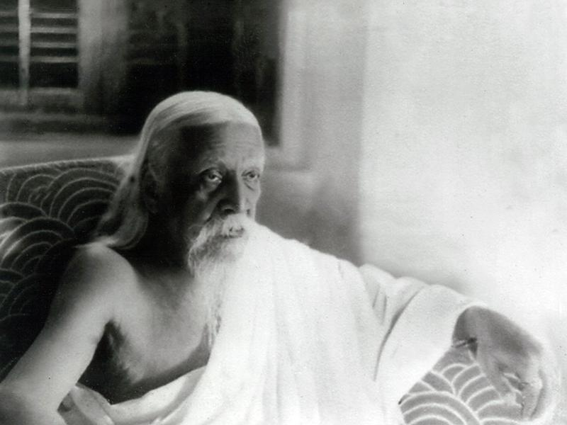 Photographer:Cartier Bresson | Sri Aurobindo. 23-04-1950