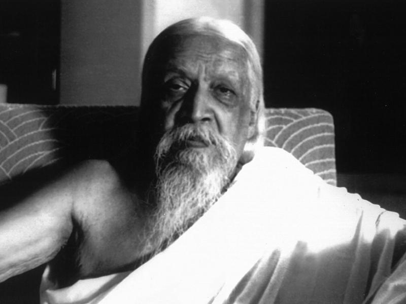 Photographer:Cartier Bresson   Sri Aurobindo. 24-04-1950