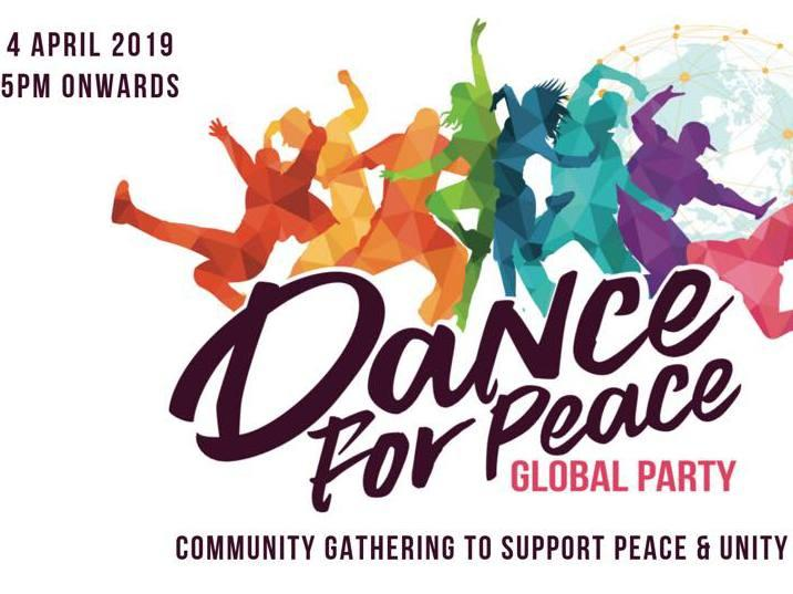 Photographer:Dance for Peace | Flyer of the event