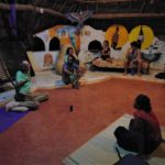 <b>Night Conscious Learning - B talks about Auroville History</b>