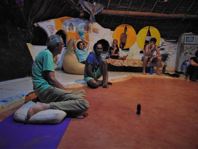 Photographer:Wobbli   B talks about Auroville History